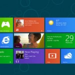 Windows 8 Tile Based Screen Interface