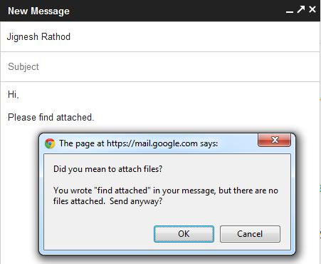 Gmail is intelligent