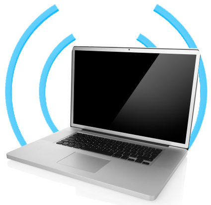 how to give your tablet wifi from a laptop
