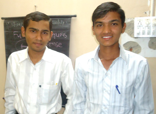 Devji Sankhat and Lalit Rathod
