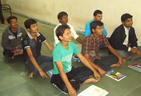 Devji and Lalit's Class Accept English