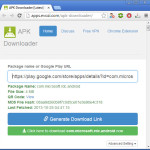 Android APK downloader