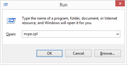 windows-run-network connections