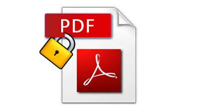 Secure, password protected PDF file