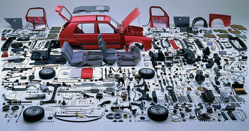 Tech Gallery: All Parts That Make a Complete Car
